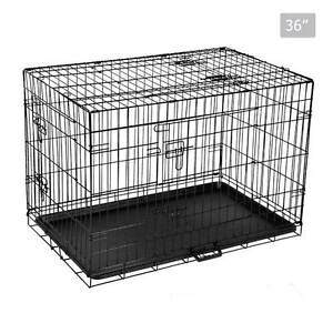 Foldable Pet Crate 36Inch Brisbane City Brisbane North West Preview