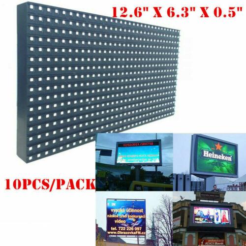 10pcs/pack Outdoor LED Display P10 Medium 32x16 RGB LED Matrix Panel