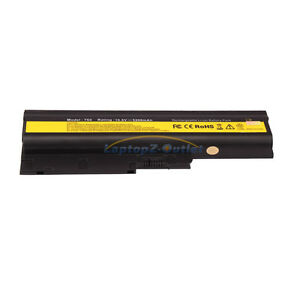 New-6-Cell-5200mAH-Battery-for-IBM-Lenovo-Thinkpad-T60p-T61p-R60e-Z60m-Z61e