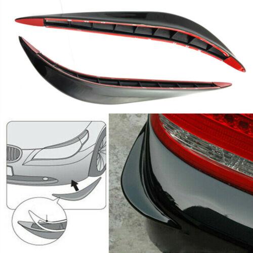 Car Parts - 2x Parts Accessories Car Body Corner Bumper Guard Anti-rub Protector Stickers