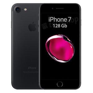 Apple-iPhone-Sette-128Gb-Black-GARANZIA-2-ANNI-Nero-Opaco-4G-LTE-NUOVO