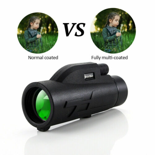 200X80 HD Zoom Portable Monocular Night Vision BAK4 Telescope For Camping NEW - $21.49