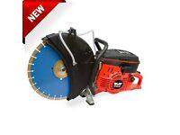 WOLF Heavy Duty Petrol 400mm Contractors Disc Cutter Cut Off Saw