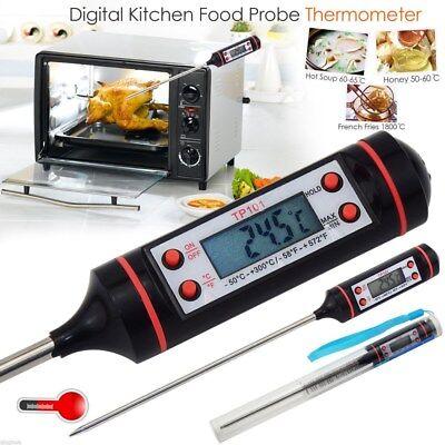 Digital Kuchen Thermometer Sensor für Küche Lebensmittel Werkzeuge BBQ Fleisch (Fleisch, Digitale Thermometer)