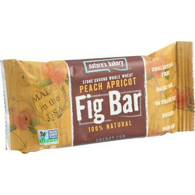 Nature's Bakery-Peach Apricot Whole Wheat Fig Bars (12-2 oz bars)