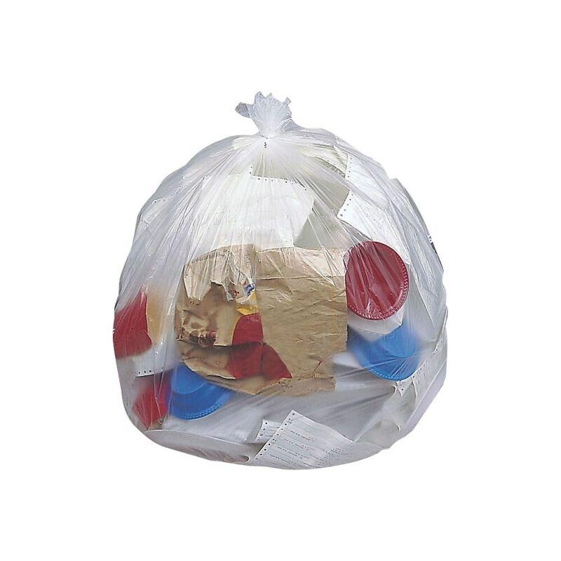 Brighton Trash Bags 30-33 gal 33x40 High Density 12 Mic Natural 10 Rolls/CT