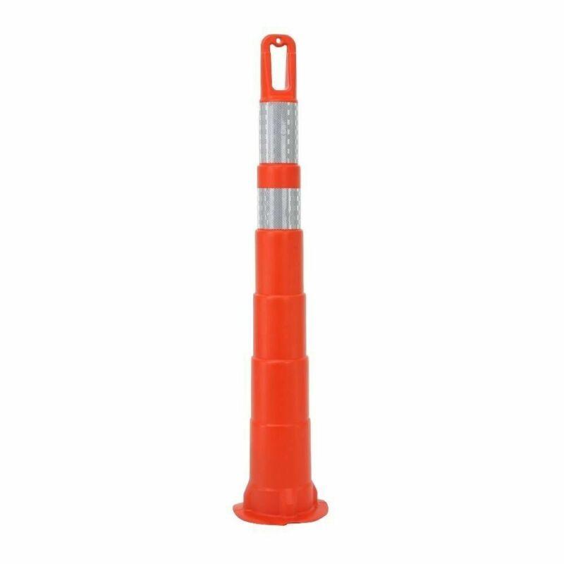 Orange Safety Cone Traffic Work Parking Channelizer Reflective Bands No Base 42