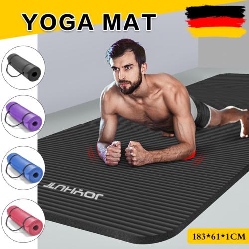 Yogamatte Fitnessmatte Gymnastikmatte Pilates Sportmatte Bodenmatte JOYHUT 10mm