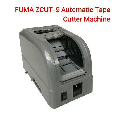 Fuma Zcut-9 Tape Cutter Machine Cut Two Volumes Simultaneously Tape No Roller