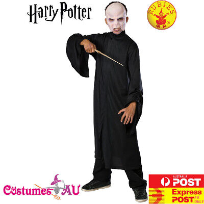 Masked Magician Halloween Costume (CHILD VOLDEMORT HARRY POTTER WIZARD BOYS HALLOWEEN BOOK WEEK COSTUME Kids +)