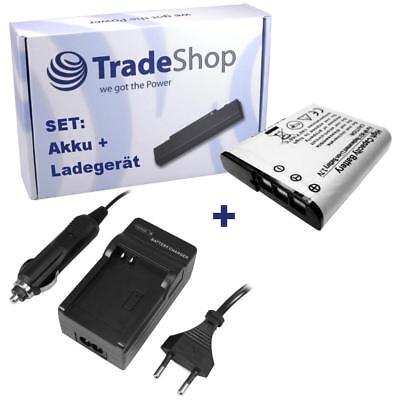 AKKU + LADEGERÄT für Sony Cybershot DSC-W-125 DSC-W-130B DSC-W-130P DSC-W-130S online kaufen