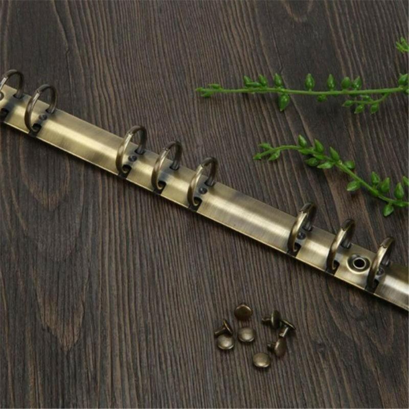 20Pcs 5//8mm Gürtel Schraube Leder Handwerk Chicago Nagel Messing Nieten Haltbar