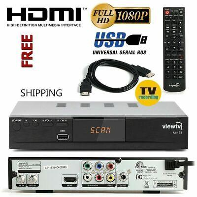 HDTV Digital TV Converter Box DVR Live Recorder PVR Tuner HDMI 1080p Cable Less Digital Converter Box Hdtv