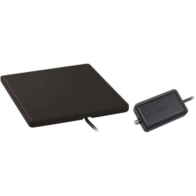 RCA Rca Multidirectional Amplified Indoor Flat Hdtv Antenna