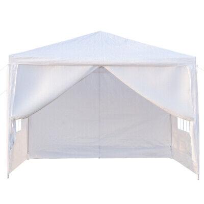 10''x10'' Heavy Duty Party Tent Canopy BBQ Wedding Outdoor Gazebo White Canopies