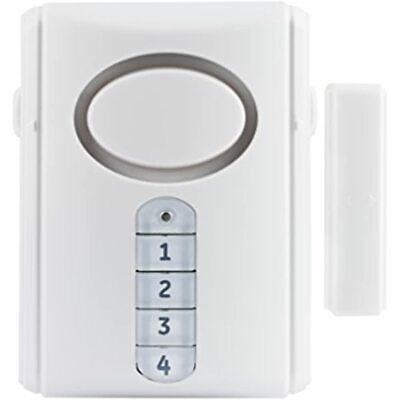 Ge Deluxe Wireless Door 120 Decibel Alarm Entry Chime Indoor Personal With -