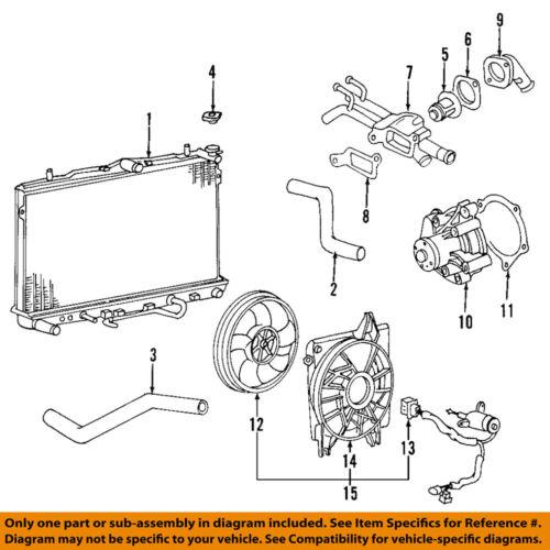 2009 kia spectra engine diagram kia oem 04 09 spectra engine water pump 2510023022 ebay  kia oem 04 09 spectra engine water pump