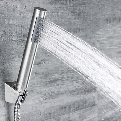Brushed Nickel Handheld Showerhead (Nickel Brushed Ellipse Handheld Shower Stainless Steel Round Head Water Saving )