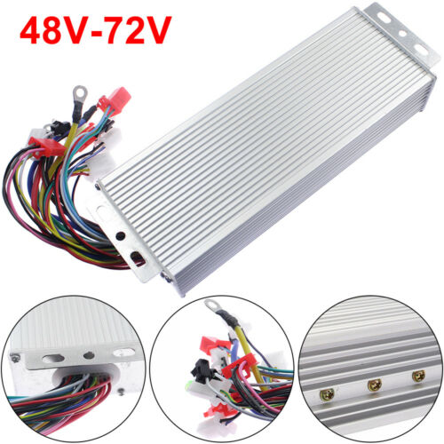 48-72V 1500W Electric E-bike Scooter Brushless DC Motor Speed Controller USA