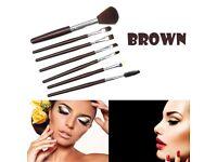 7 Pcs Silicone Makeup Brush EyeShadow Brush Cosmetics Blending Brush Tool