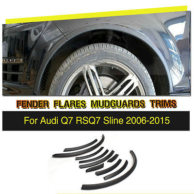 Used, For Audi Q7 RSQ7 Sline Car Wheel Well Fender Flares Arch Lips Cover Trim Refit for sale  China