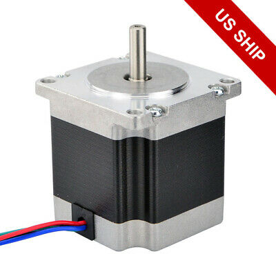 Nema 23 Cnc Stepper Motor 179oz.in 2.8a 1.2v For Reprap Mill Lathe Router Robot
