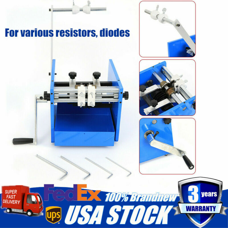 U Type Resistor Bend Form Axial Lead Capacitance Bend Cut & Forming Machine USA