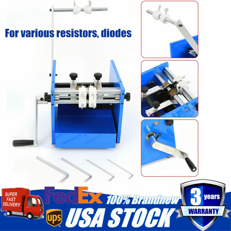 U Type Resistor Bend Form Machine for Diodes electronic Components Progress