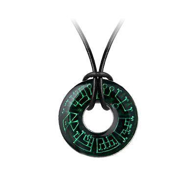 Alchemy Gothic Angel Ring Pewter Pendant BRAND NEW