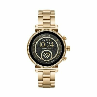 Michael Kors Access Slim Sofie Gold Smart Touchscreen Watch MKT5062