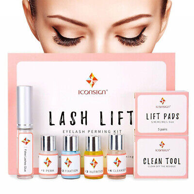 Best Gift-Upgraded 8 in 1 Silicone Complete Eye Lash Lift Perming Extension