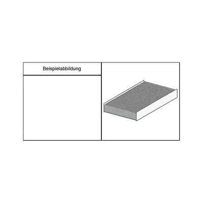Standard-Innenraum-Filter (Pollenfilter), Filtereinsatz für Klimaanlage/Heizung,