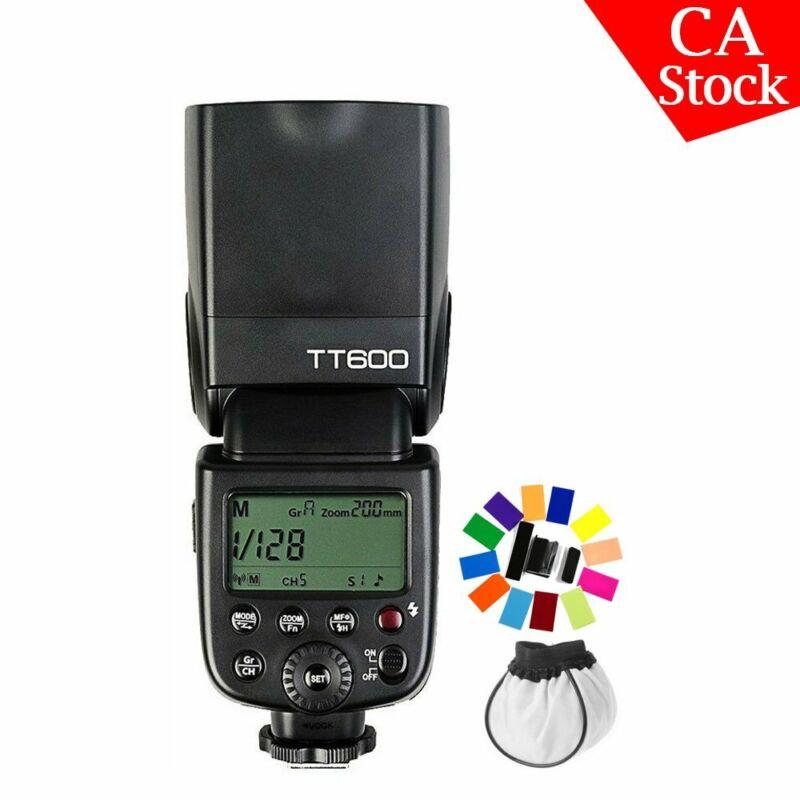 Godox TT600 2.4G Camera Flash Speedlite for Canon Nikon Pentax Olympus Sony
