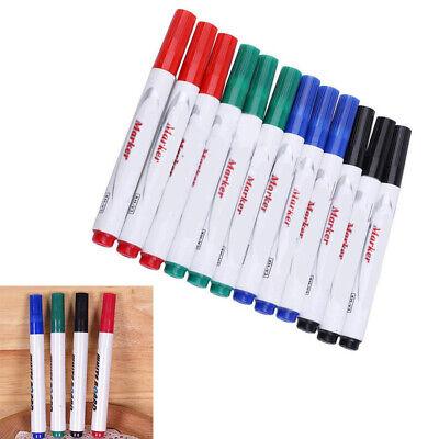 12pcs Dry Erase Markers Whiteboard Marker Pens Low Odor Marker Pens Fine Tip Pen