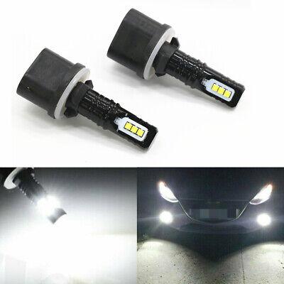 100W CREE LED Fog Lights For Nissan Titan SL SV 2004-2015 880 6000K White US