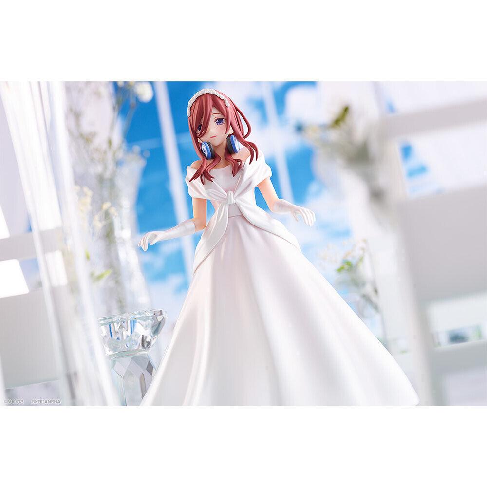 The Quintessential Quintuplets figure Miku Nakano BrideStyle Ichiban Kuji C
