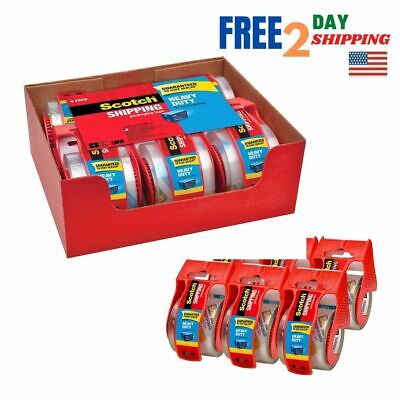 Scotch Heavy Duty Packaging Tape 1.88 X 22.2 Yd Designed For Packing Ship...