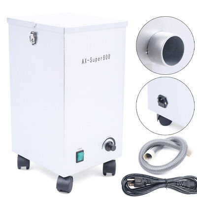 Dental Dust Collector Mobile Dust Removal Machine Lab Vacuum Cleaner Extractor