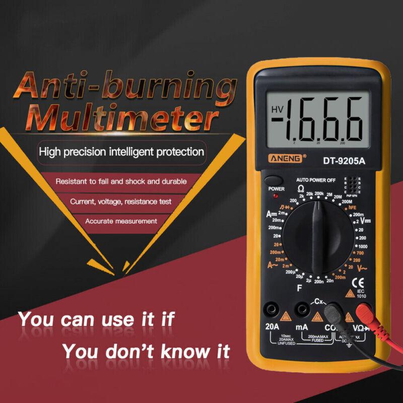 Digital LCD Tester Multimeter Auto Meter AC DCAmmeter Voltmeter Ohmmeter Tools