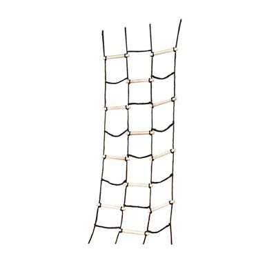 Climbing Ladder Rope Treehouse Swing Set Cargo Net Outside Child Play House