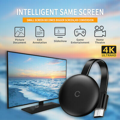 NEW QUALITY Chromecast Ultra 4K HDMI Media Streaming Player Free & Fast Shipping