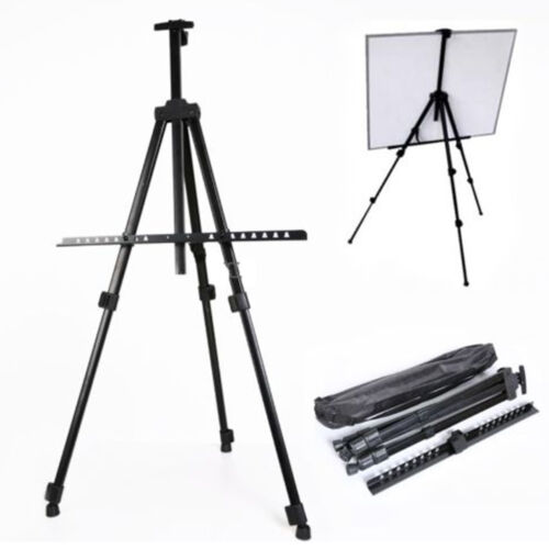 Folding Art Artist Telescopic Field Studio Painting Easel Tr