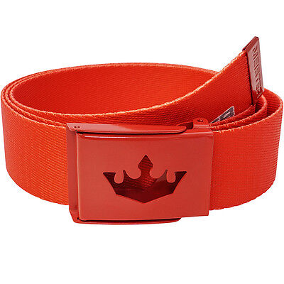 Meister Player Golf Web Belt   Fits Up To 42    Pants Shorts Nike New   Team Red