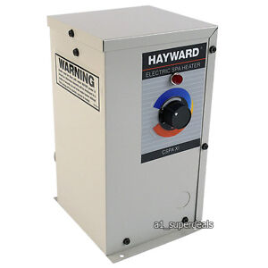Hayward comfortzone electric spa heater hot tub 11kw for Garden pool heater