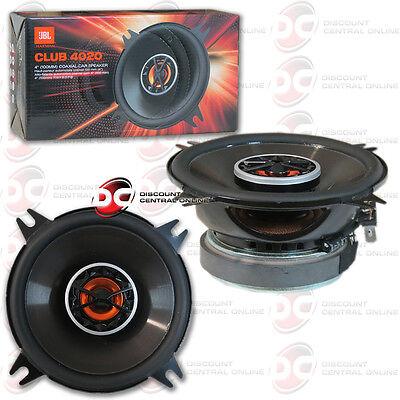 """JBL Club 4020 4"""" CAR AUDIO CLUB SERIES 2-WAY COAXIAL SPEAKERS (PAIR)"""