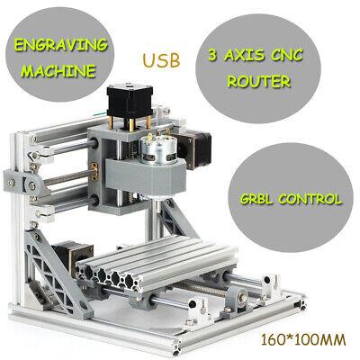 Diy 3 Axis Cnc 1610 500mw Desktop Pcb Milling Engraver Machine Wood Router
