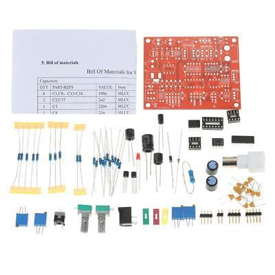 Icl8038 Function Signal Generator Diy Kit Squaretrianglesine Wave Output U3e8