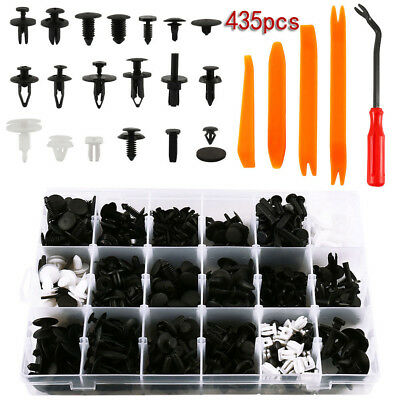 (435pc/set Plastic Clip Car Body Retainer Push Pin Trim Rivet Panel Moulding)