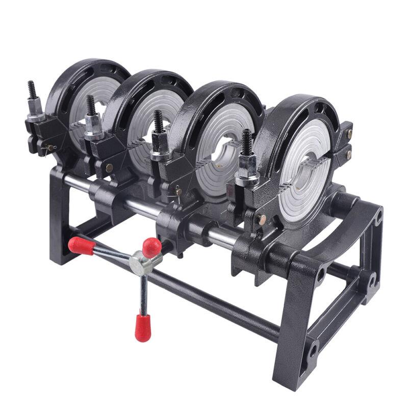 63-160mm Hand-push Pipe Welder PE PPR PB PVDF HDPE Fusion Welding Machine 110V
