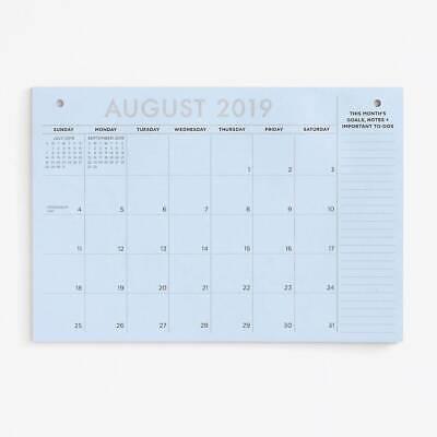 Paper Source - Calendar - Colorful Desk Blotter - 20192020